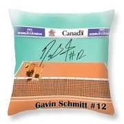 Gavin Schmitt Throw Pillow by Darren Cannell