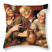 Gay Company Throw Pillow