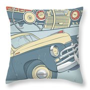 Gaz 20 Throw Pillow