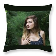 Gaze Upon Nature Throw Pillow