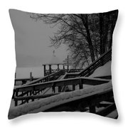 Gazebo-2 Throw Pillow