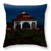 Gazebo  22 Fletcher Lake Throw Pillow