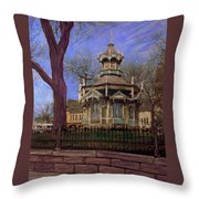 Gazebo At Wisconsin Club Throw Pillow