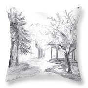 Gazebo Throw Pillow