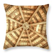 Gazebo Roof Throw Pillow