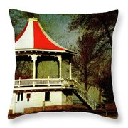 Gazeebo Throw Pillow