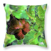 Gazing Up  Throw Pillow