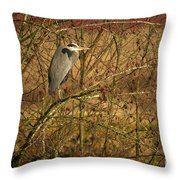 Gbh In A Tree Throw Pillow