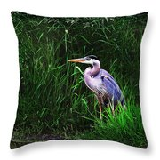 Gbh In The Grass Throw Pillow