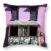 Gearagh Pub In Macroom Ireland Throw Pillow