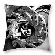 Geared  Throw Pillow