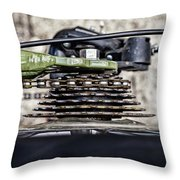 Geared Up Throw Pillow