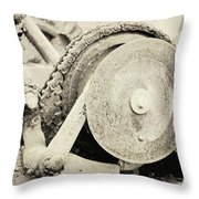 Gears Nuts And Bolts Throw Pillow
