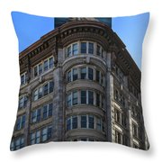 Geary And Powell Street Throw Pillow