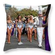 Geaux Tigers Throw Pillow