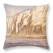 Gebel Abu Fodde By Edward Lear  1867 Throw Pillow