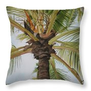 Gecko Heaven Throw Pillow