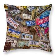 Geddy's Down Under Throw Pillow