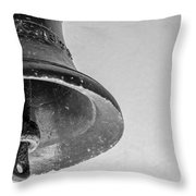 Green Bell Throw Pillow