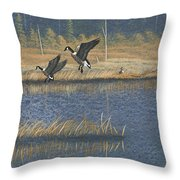 Geese Throw Pillow