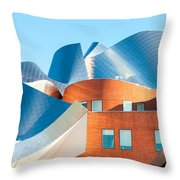 Gehry Architecture Throw Pillow