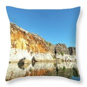Geikie Gorge Throw Pillow