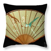 Geisha Sunrise Throw Pillow