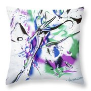 Gel Art #12 Throw Pillow