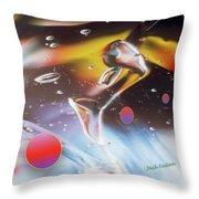 Gel Art #17 Throw Pillow
