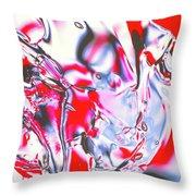 Gel Art #21 Throw Pillow