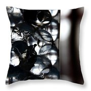 Gel Beads Throw Pillow by Fabio Giannini