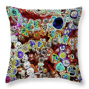 Multiverse Gelaxy Dark Throw Pillow