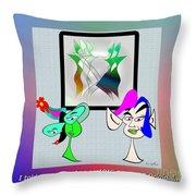 Gelbart Original Throw Pillow