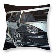 Gemballa Porsche Right Throw Pillow