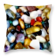 Gemglow Throw Pillow