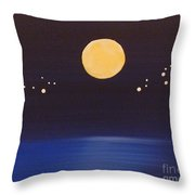 Gemini And Leo Throw Pillow
