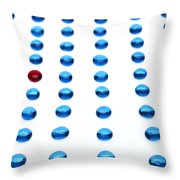 Gems Throw Pillow