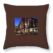 Gems Of Lincoln Center 2 Throw Pillow