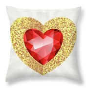 Gemstone - 2 Throw Pillow