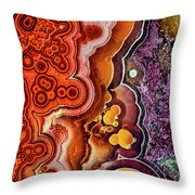 Gemstone 3 Throw Pillow