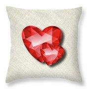 Gemstone - 6 Throw Pillow