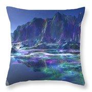 Gemstone Mountain  Throw Pillow