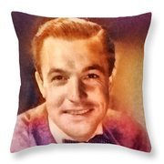 Gene Kelly, Vintage Hollywood Legend Throw Pillow