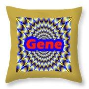 Gene Throw Pillow