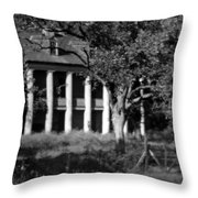 General Beauregard's Plantation Throw Pillow