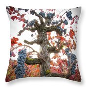 General Cluster Throw Pillow