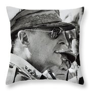 General Douglas Macarthur, 1944 Throw Pillow