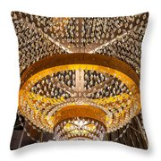 General Electric Cleveland Playhouse Chandelier Throw Pillow