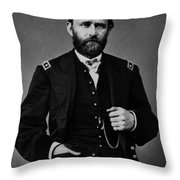 General Grant During The Civil War Throw Pillow