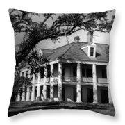 General Jackson's Headquarters Throw Pillow